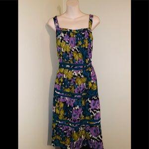 NWOT Elle Beautiful vintage floral mid dress